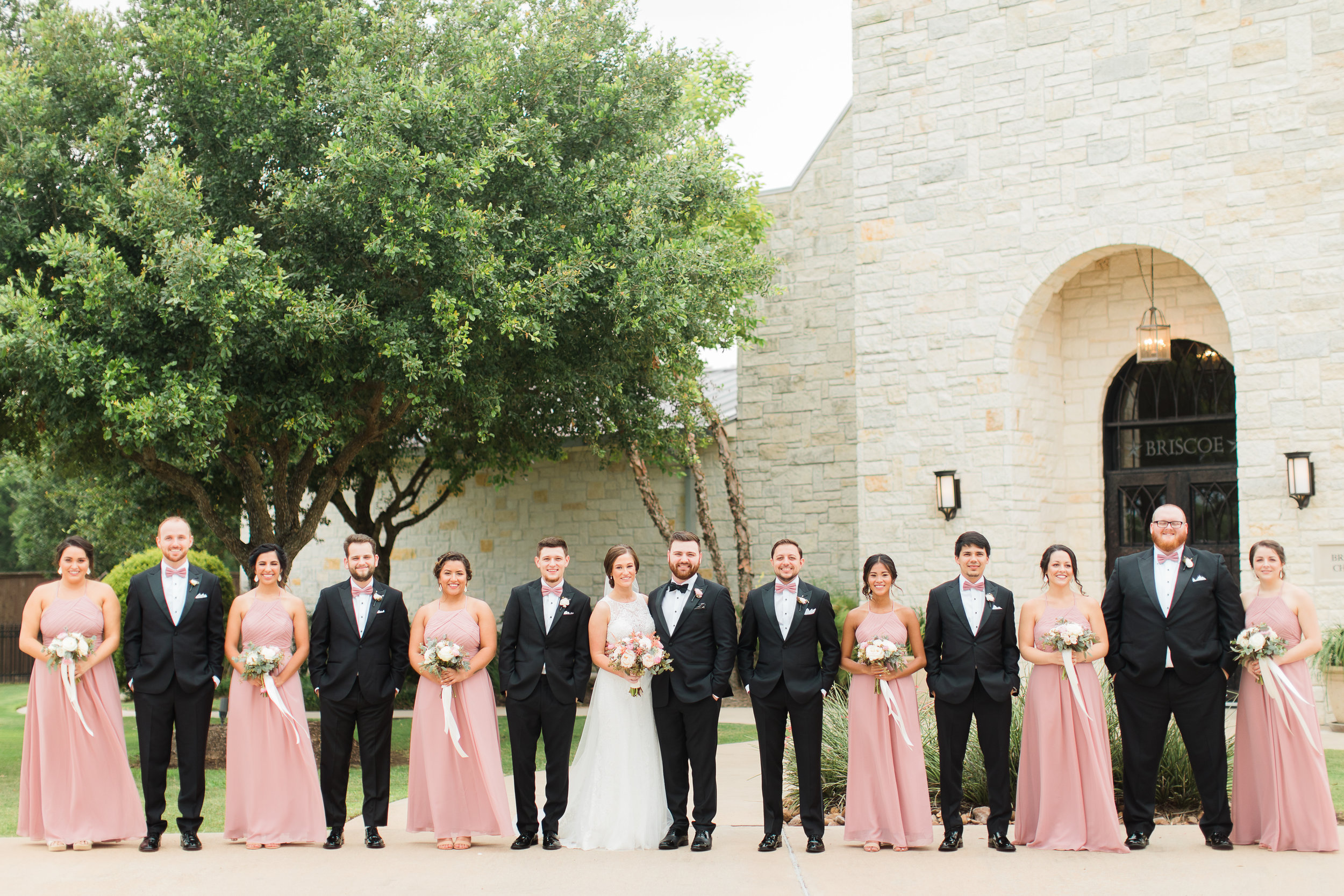 Formal Wedding Party Photo- Houston Wedding