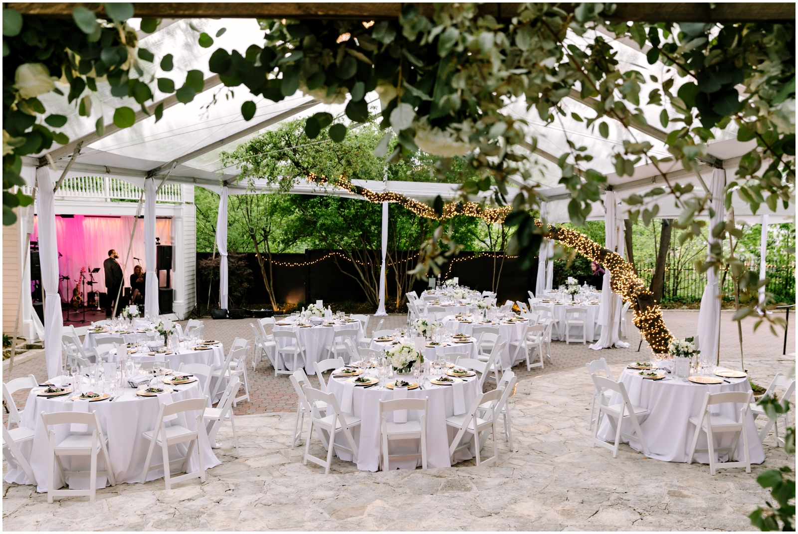Garden wedding venue in Texas