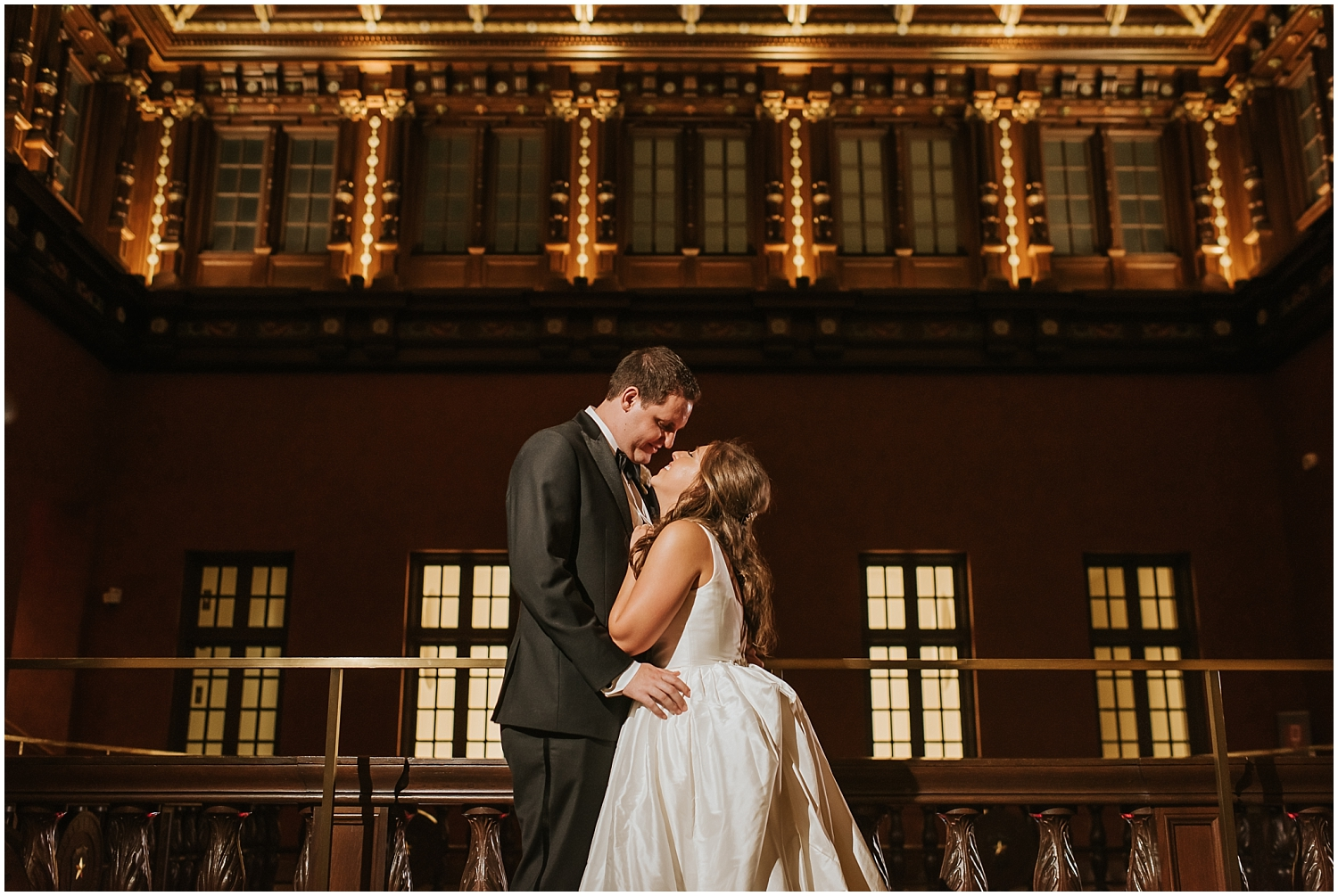 bride and groom portrait at their Houston wedding