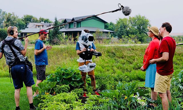 Behind the scene of the documentary Rosebud, Alberta. This short doc premieres Sept 29th (this Sunday) at the @edmfilmfest Directed by @ericpaulsproductions Cinematography by @jankemichael Original score by @sarah.houston.music and @ericpaulsproductions Made possible with the support of @rosebudtheatre and @canada.council