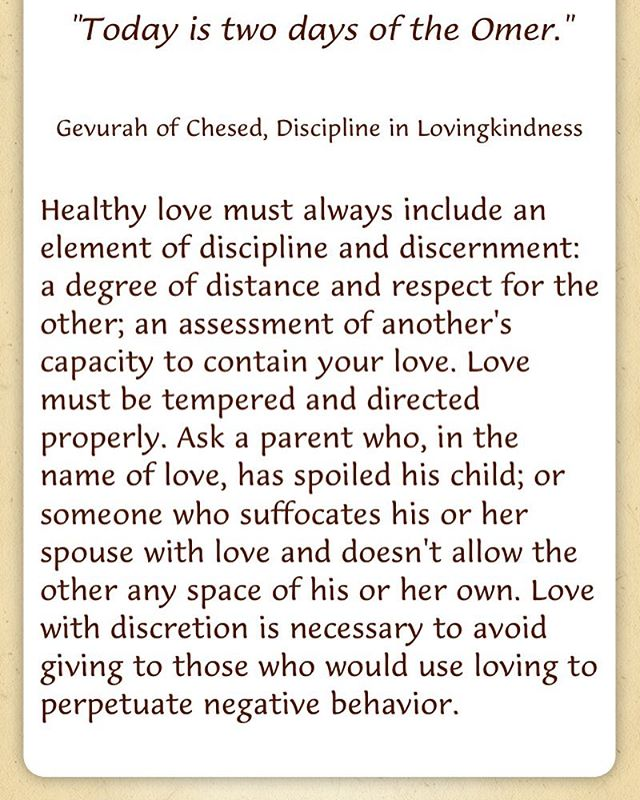 #day2 #omer #gevuraofchesed #healthylove