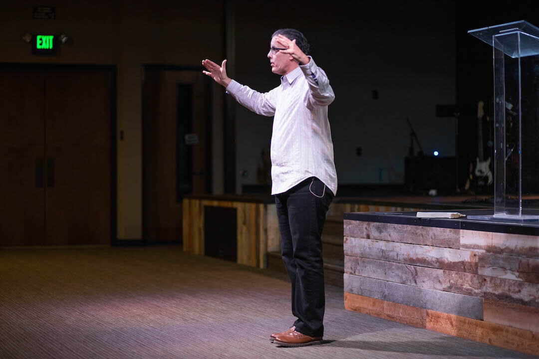 STANDING BETWEEN THE LIVING AND THE DEAD - PASTOR GREG SIMAS