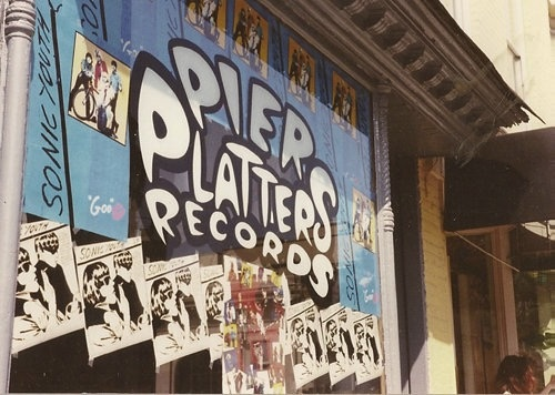 Pier Platters - Summer 1990 (photo by Dave Mckenzie)