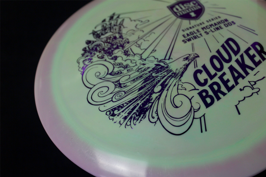 SOLD OUT - First run Cloud Breakers were released in small quantities inside Mystery Boxes last December and were selling on auction site for well over $100 per discs in the months leading up to the stock release of the DD3.