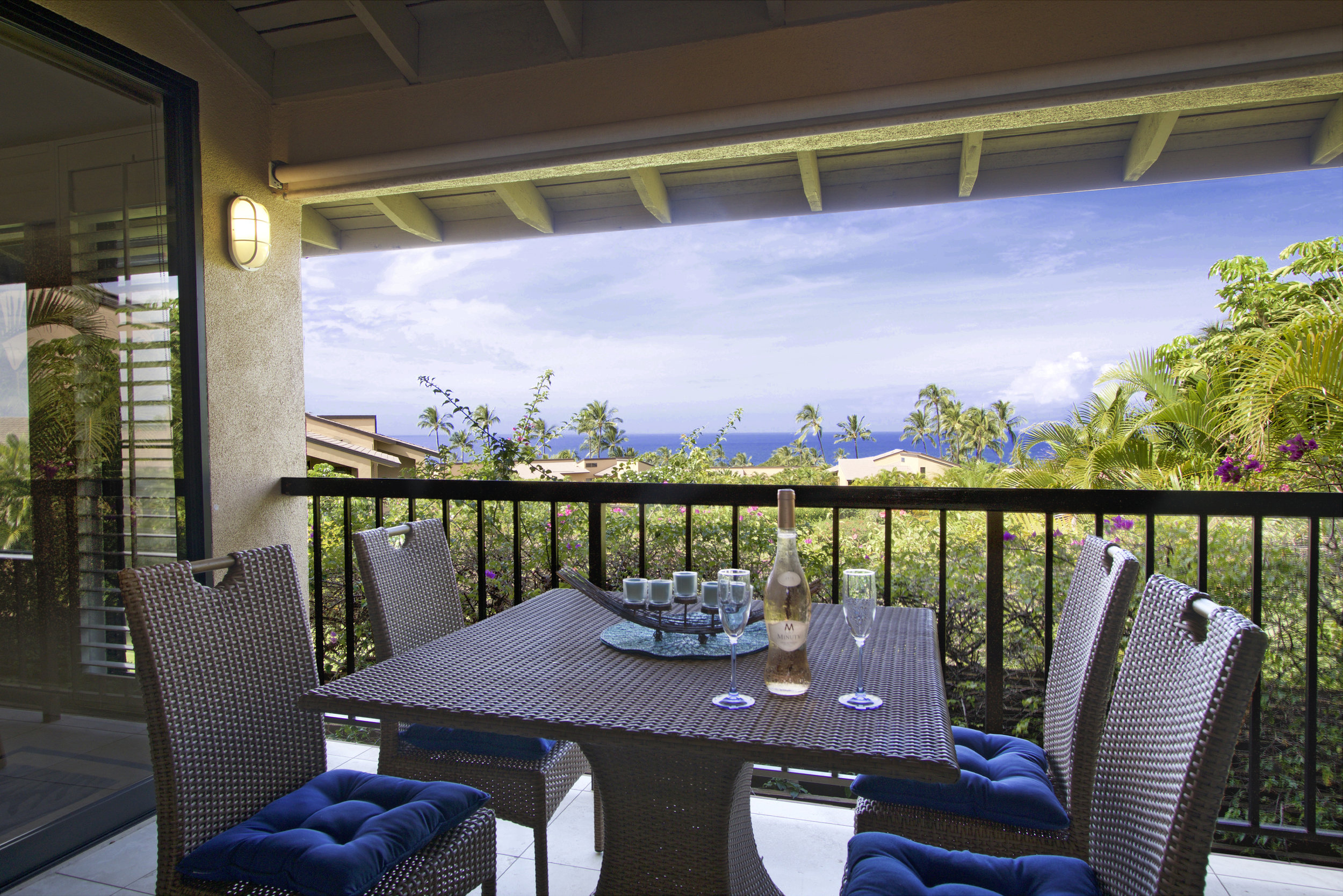 Oceanview from the private lanai