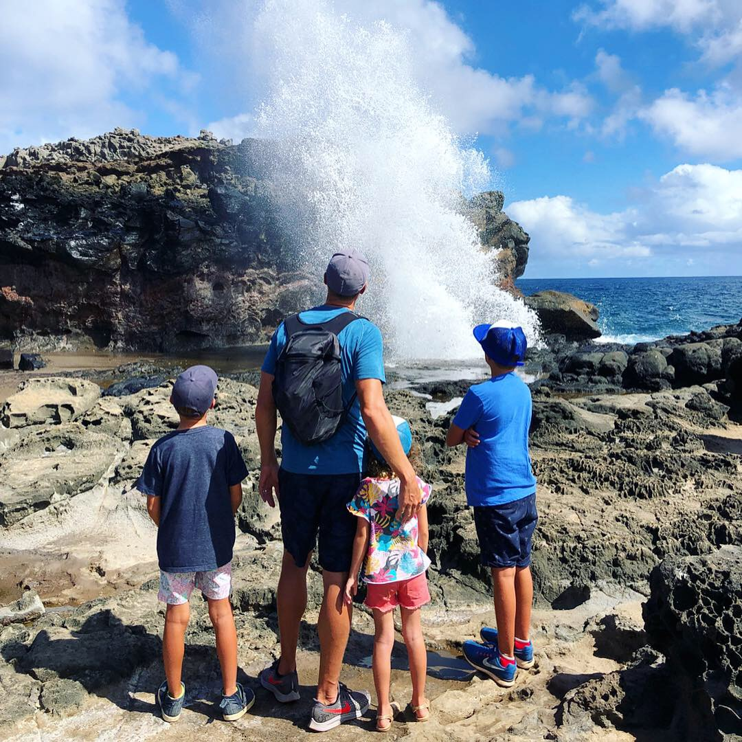 The Nakalele Blowhole never disappoints