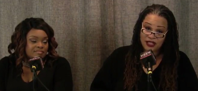 """Wendy Hicks and Nia """"The Songbird"""" Simmons on Indie Voice radio show"""