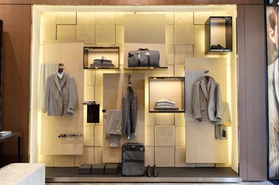 Interior Franchise store Corneliani