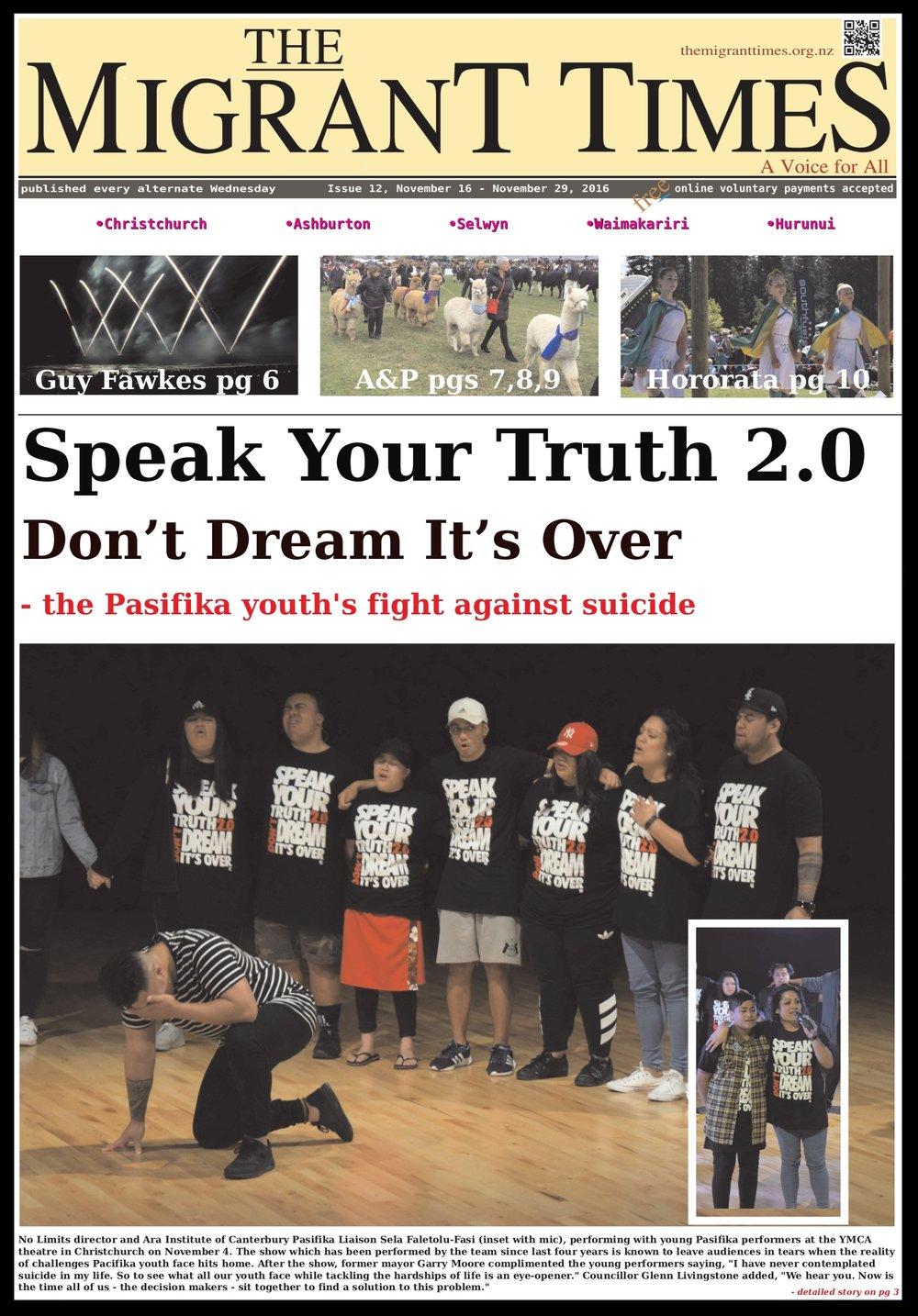 Issue 12, November 16 - November 29, 2016