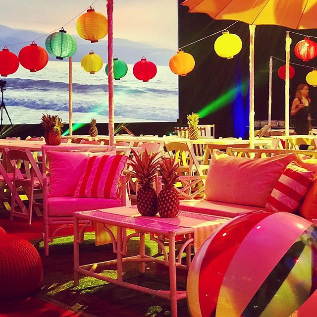 It's always a fiesta when we combine forces with our sister company @aminiconcepts  We loved providing the furniture for this fun event. . . . . . #beachparty #fiesta #hotsummernights #corporateevents #corporatedinner #corporateparty #workparty #eventtheming #eventstyling #eventstylist #furniturehire #partyhire #workdrinks #outdoorfurniture #lanterns #beachballs #fun #letyourhairdown #sistercompany #collaborate #brisbane #brisbaneevents #furniturerentals #epic #visiondesigncreate #thestyledgroup #goldcoasthire #eventdesign #furnitureinspiration