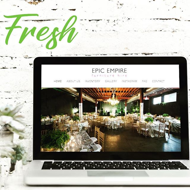 So Fresh! 🌿 head over to our website to check out our brand new look! . . . . . #newlook #fresh #newwebsite #sofresh #beautifulfurniture #eventfurniture #brisbaneevents #partyhire #brisbane #goldcoastevents #eventhire #eventstyling #eventhire #eventdecor #brisbaneconference #brisbanevenues #hirebrisbane #thestyledgroup #epicempirefurniture #visiondesigncreate