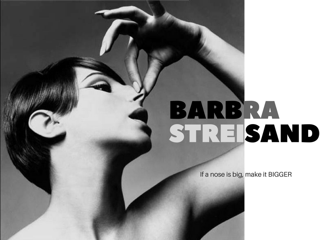 Barbra Streisand by Richard Avedon