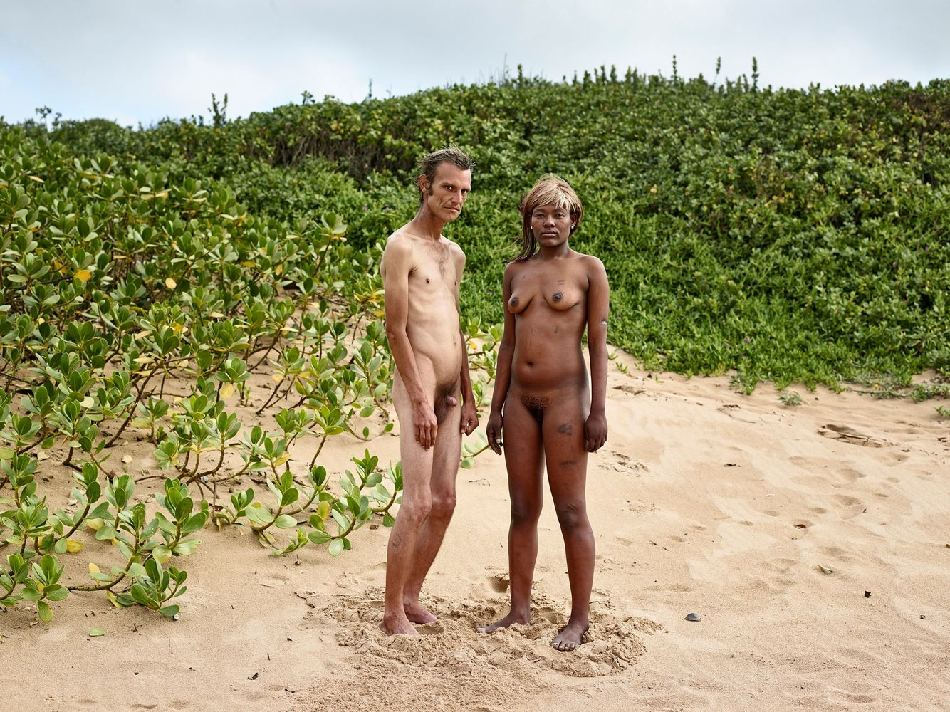 "Image: Pieter Hugo from his series ""Kin"" / Image via  We Folk"