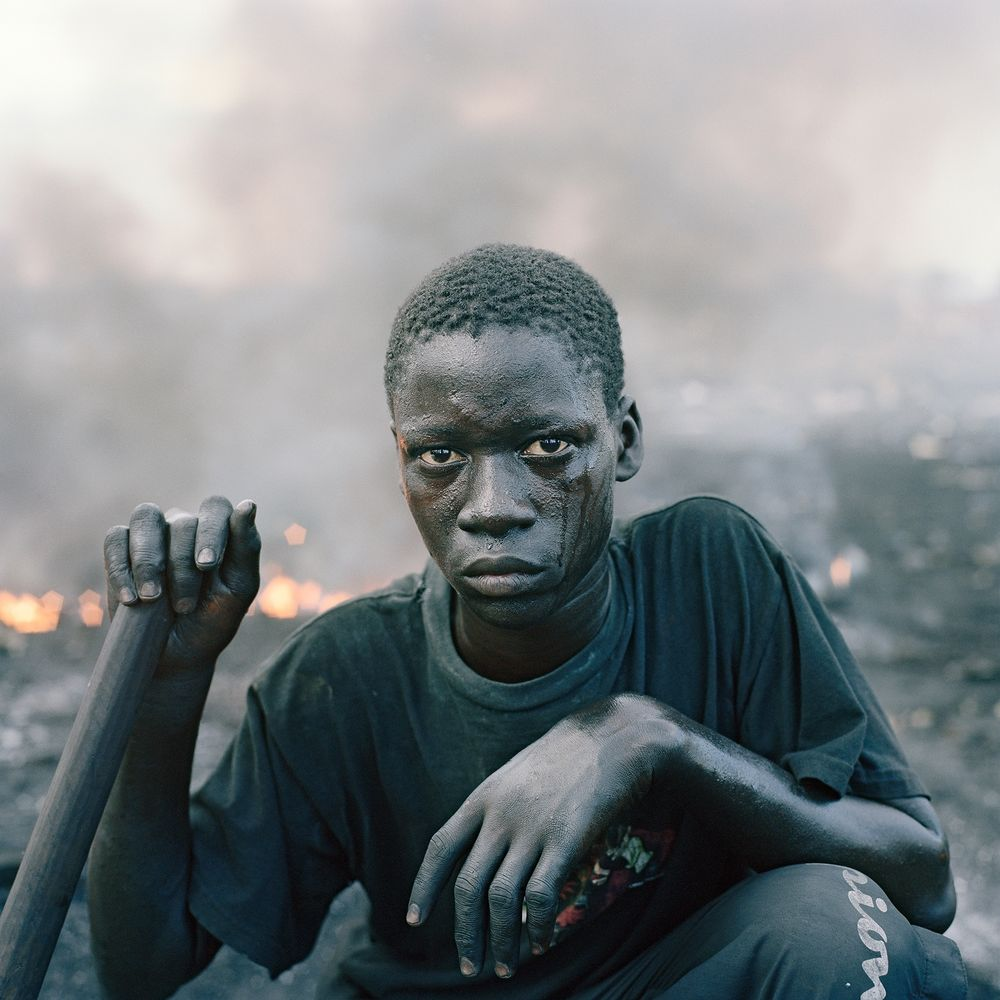 Image: Pieter Hugo from the 2009-10 series  Permanent Error  | via  We Folk