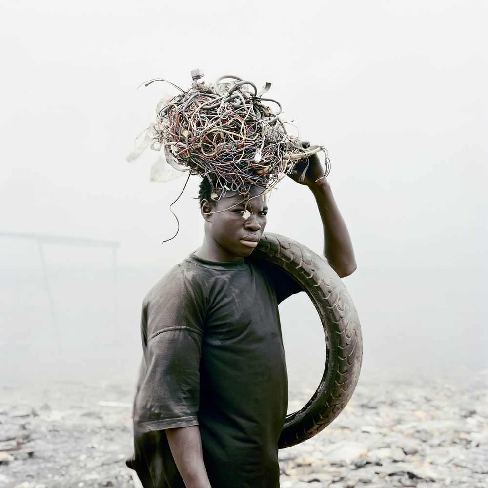 Image: Pieter Hugo from the 2009-10series  Permanent Error  | via  We Folk
