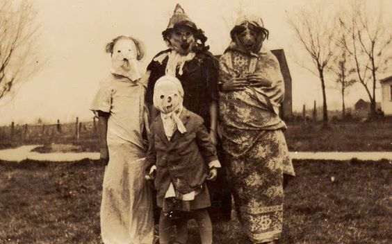 From the book: Haunted Air by Ossian Brown Anonymous Halloween photographs from c.1875–1955.