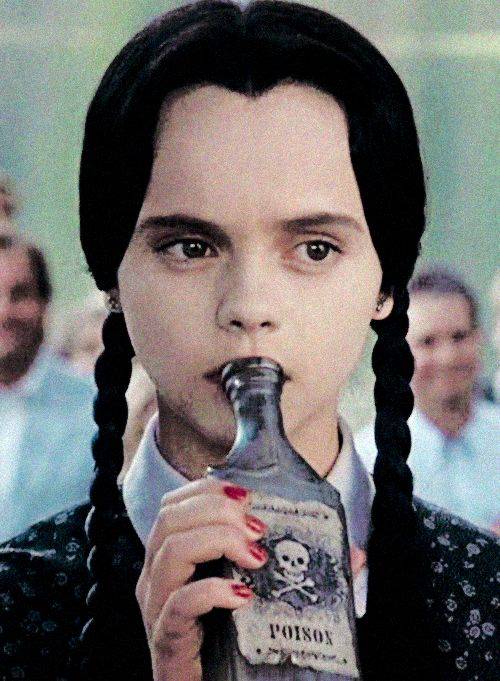 Christina Ricci as Wednesday Addams in The Addams Family 1991 remake.