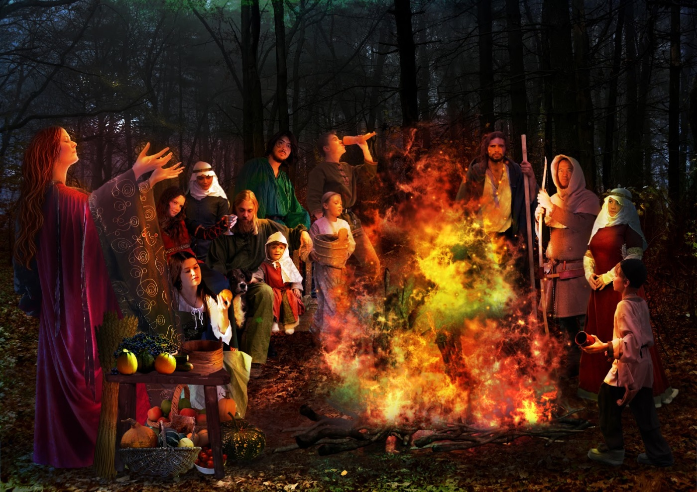 Feile Na Marbh  ( FAY-luh na MAR-ve ) – the Feast of the Dead | Image via The Wild Geese