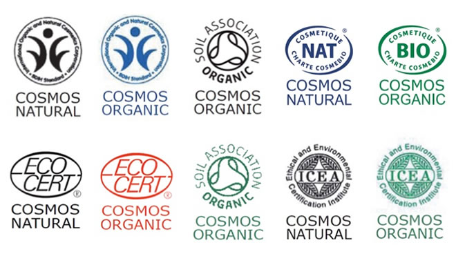 New logos showing the COSMOS Standards