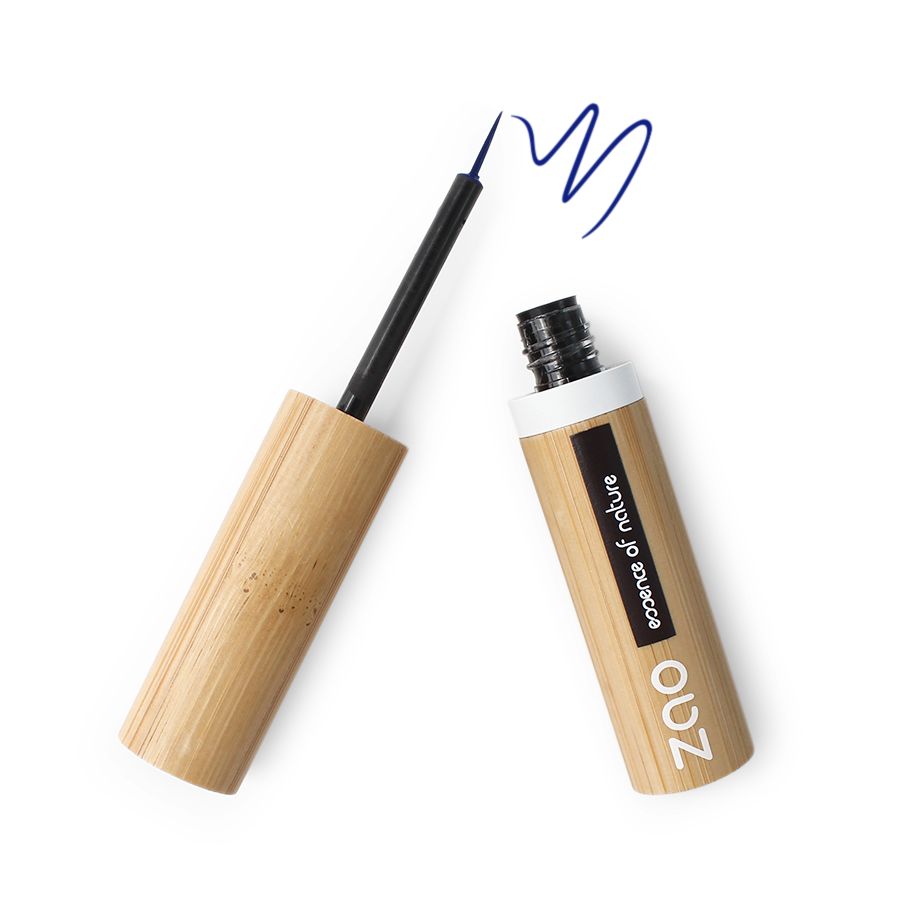 Zao Refillable Liquid Liner in Electric Blue
