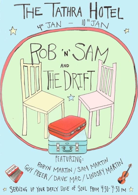 Rob n Sam and the Drift poster 800 tathra hotel.jpg