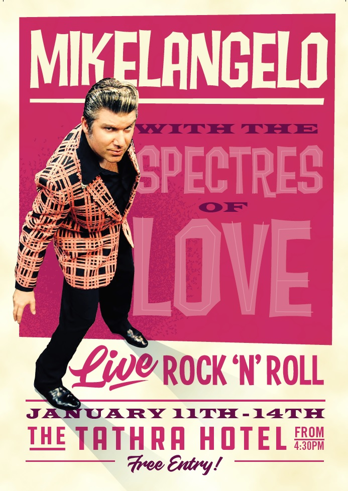 Mikelangelo with the Spectres of Love Tathra hotel 2017.jpg
