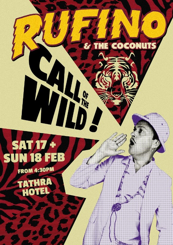 Rufino and the Coconuts tathra hotel poster 800.jpg