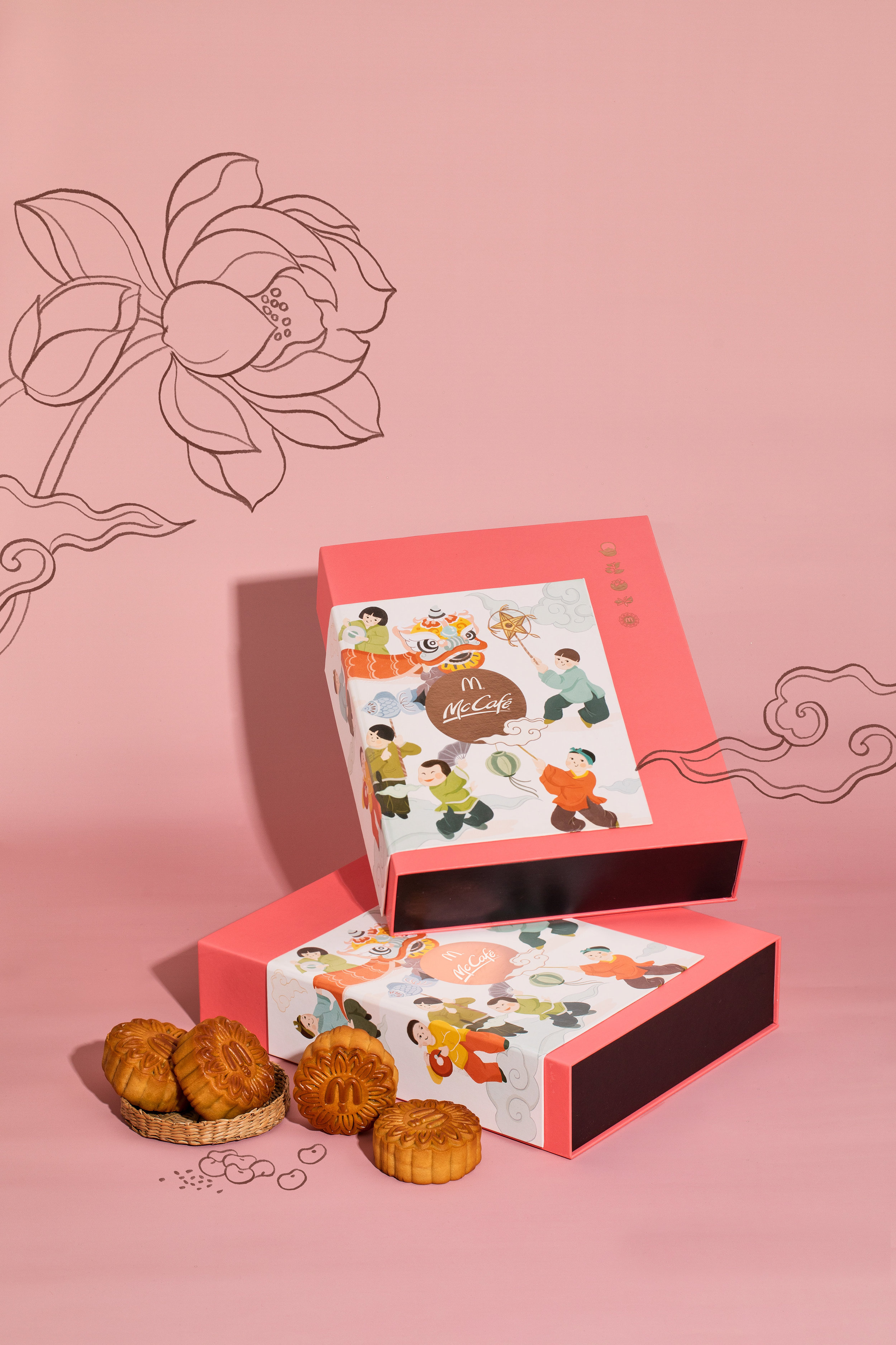 McDonald's Vietnam Mooncake Design 2018