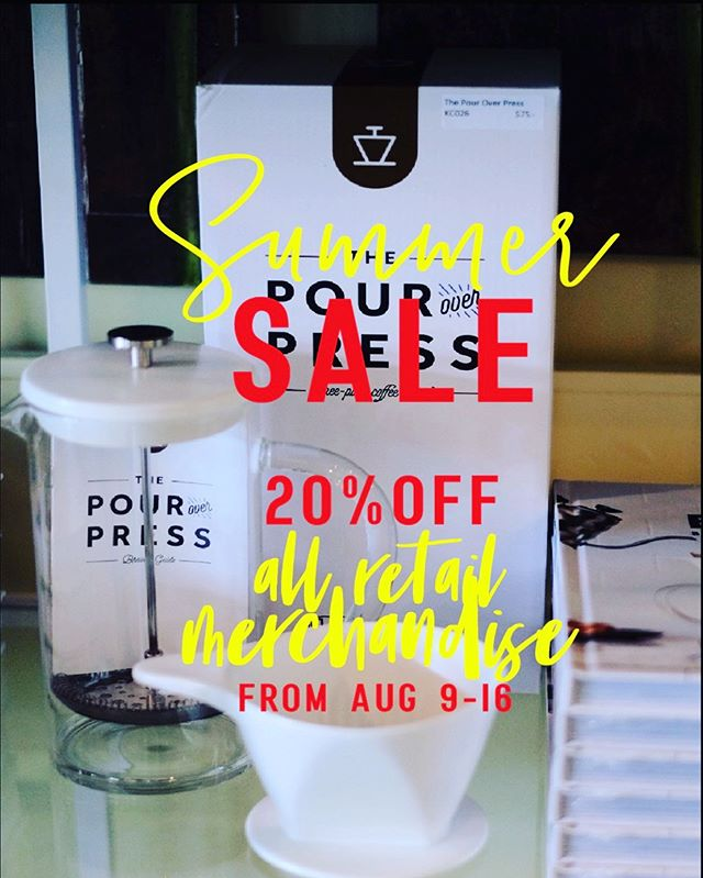 Yes, starting August 9th - 16th, all retail merchandise are 20% off from its original price. . From home goods to food items. 😉 . . . #washingtondc #pantrythai #petworthdc #drinks #DCevents #bar #dc #WashingtonDC #acreativedc #delicious #thairestaurant #fundrinks #bythings  #vegetarian #decor #tablesetting #sushi #bentobox #beautifulmarket #cookbooks #thaigrocery #rawhoney  #maplesyrup #peanutbutterlover #oliveoils #balsamicvinegar #bamboobasket #cookingtools #woodenspatula #kitchentools #ceramicbowl