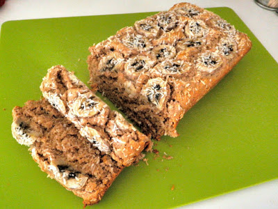 VEGAN COOKING: COCO-BANANA BREAD