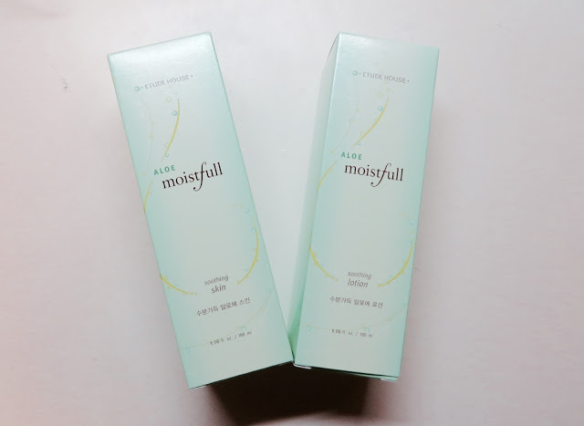 """PRODUCT REVIEW: ETUDE HOUSE """"ALOE MOISTFULL SOOTHING SKIN & SOOTHING LOTION"""""""
