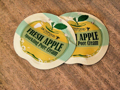 """PRODUCT REVIEW: SKIN FOOD """"FRESH APPLE SPARKLING PORE CREAM"""""""