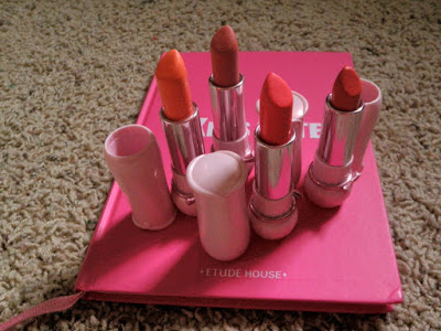 """PRODUCT REVIEW: ETUDE HOUSE """"DEAR MY BLOOMING LIPS-TALK"""""""