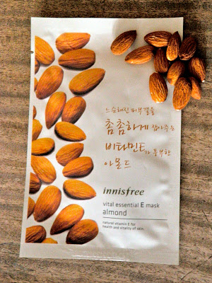 """PRODUCT REVIEW: INNISFREE """"ALMOND VITAL ESSENTIAL E MASK"""""""