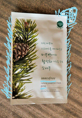 """PRODUCT REVIEW: INNISFREE """"PINE NATURAL ESSENTIAL MASK"""""""