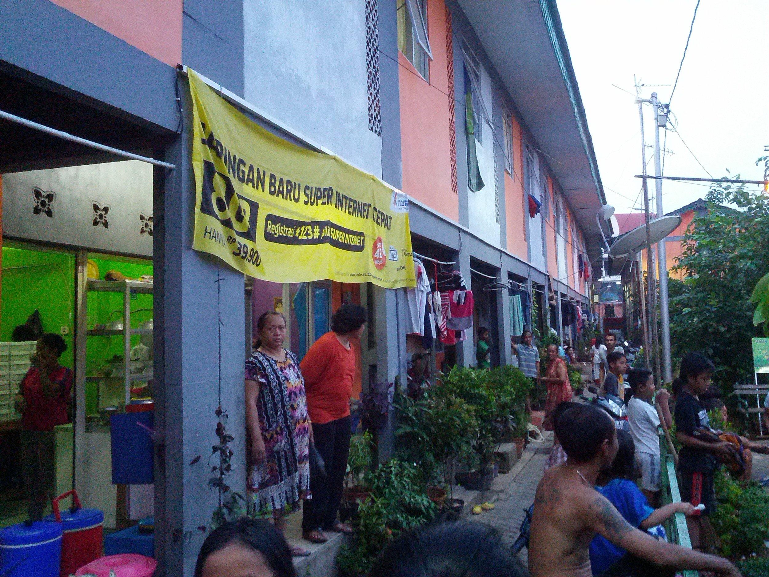 Kampung Deret - 2015 (Image  © Abidin Kusno)