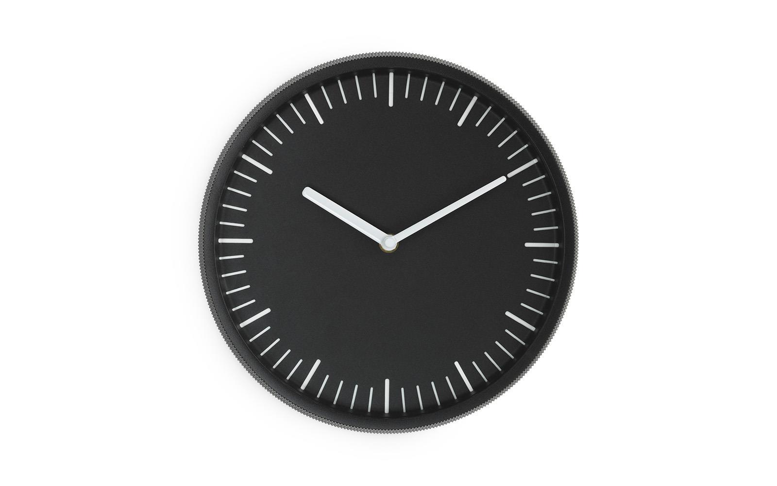 Normann Copenhagen  Day Wall Clock Black