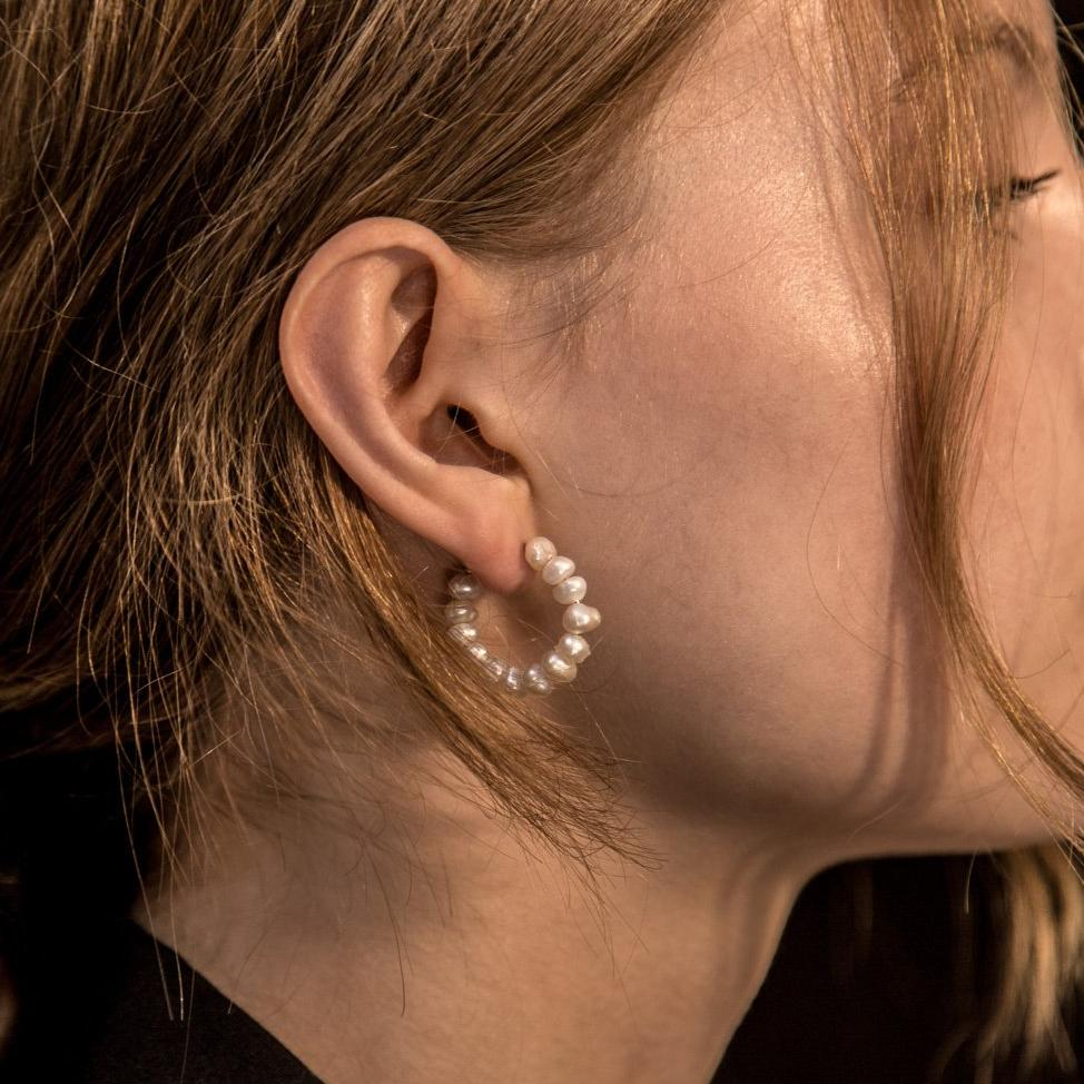 Holly Ryan  Pearl Earrings