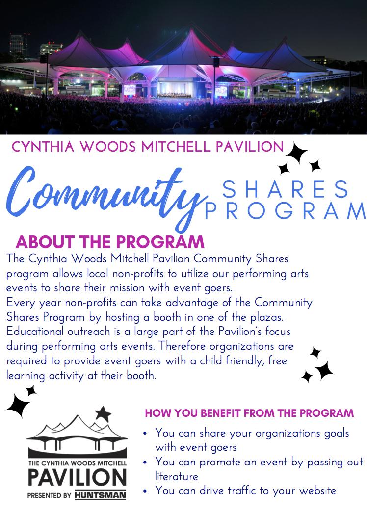 Community Shares Program Flyer