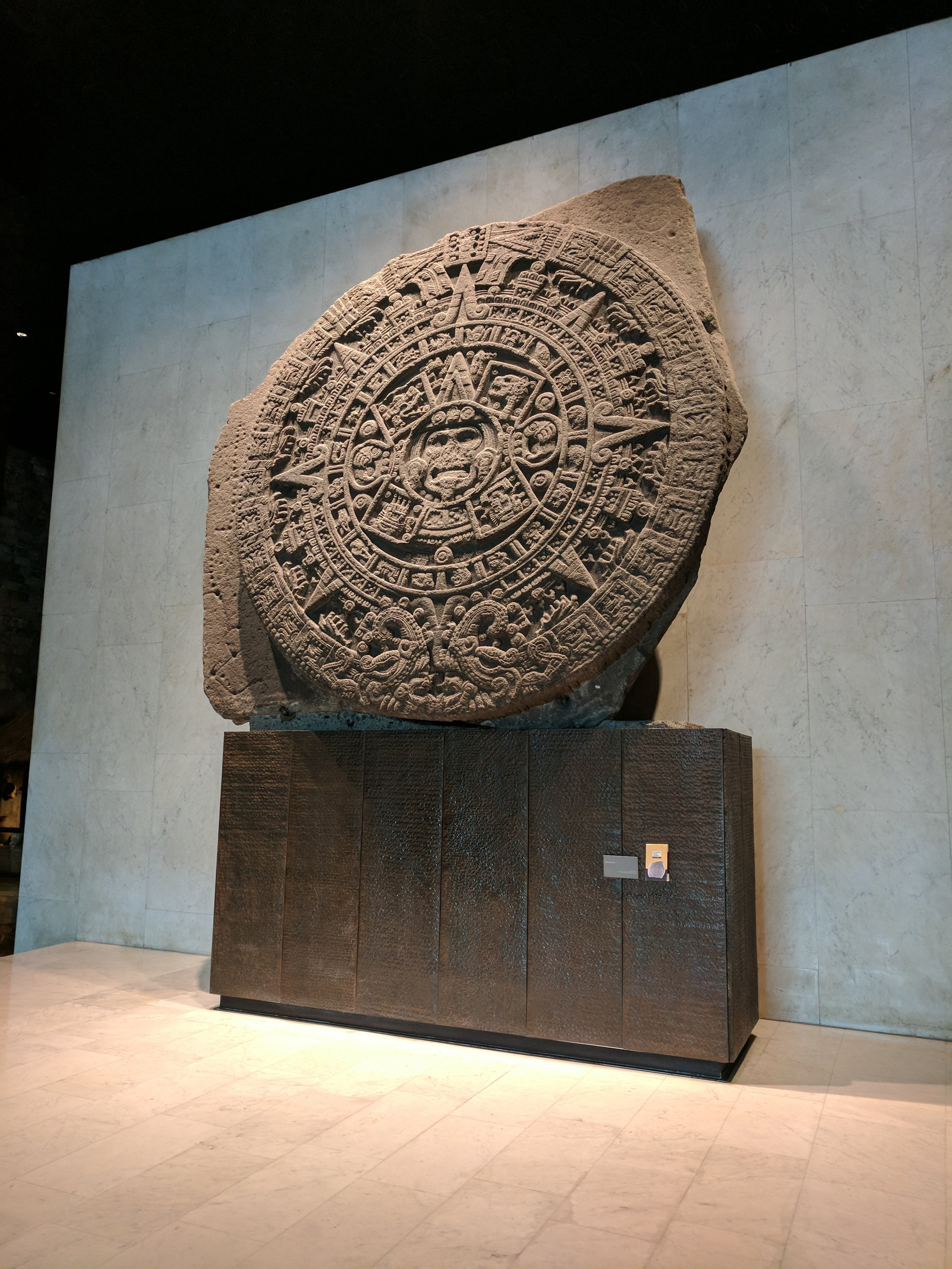 An artifact from the temple of the sun