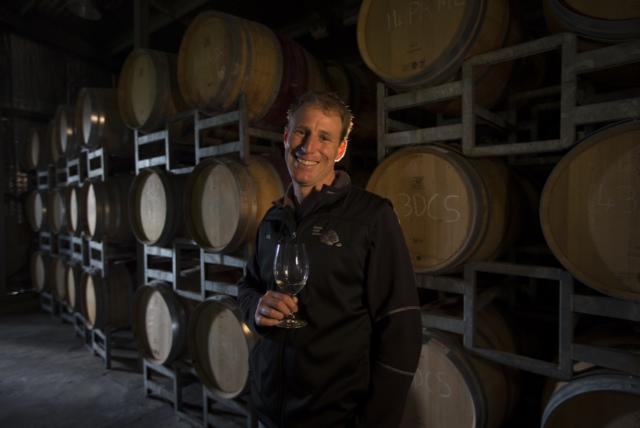 Wine maker Robert Diletti