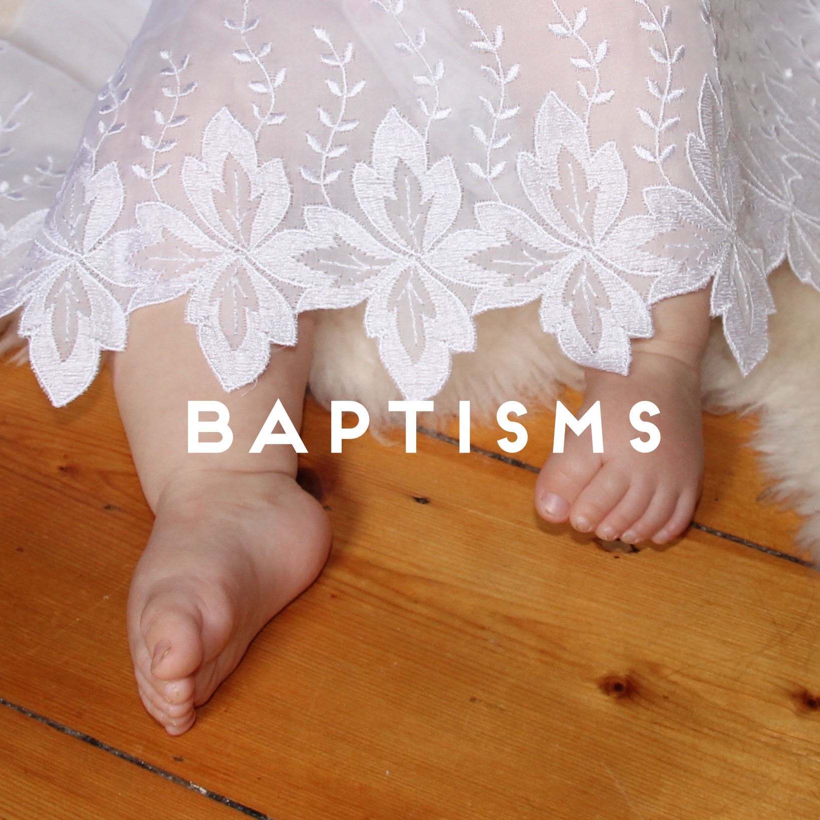 Joanie's Baretto/Functions/Baptisms