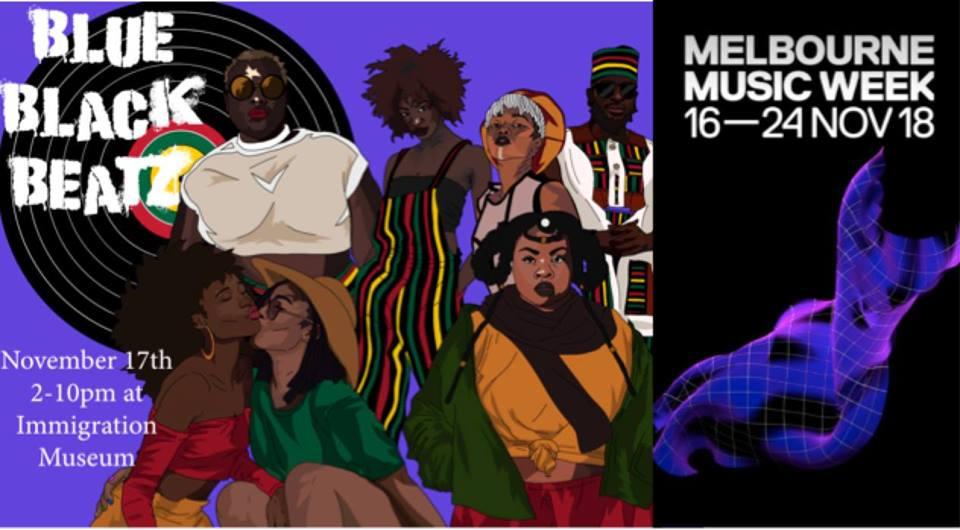 Melbourne Music Week Blue Black Beatz Poetry Music