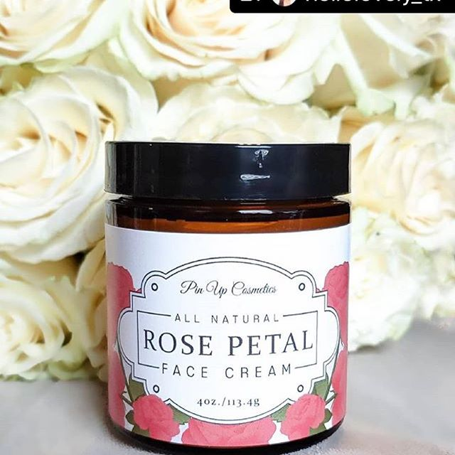 Great pic of our Rose Petal Face Cream from @hellolovely_tx .............................#Repost @hellolovely_tx with @repostsaveapp · · · 🌟 GIVEAWAY TIME!!🌟 Pin Up Cosmetics Giveaway  Starts Today!  I've teamed up with one of my favorite vegan skincare lines, @pinupcosmeticssf to give you a chance to win this nourishing Rose Petal Face Cream!! ($35 value!) TO ENTER: 🖤 LIKE this post 🖤 FOLLOW @pinupcosmeticssf 🌹Also be sure to turn on post notifications so you never miss a post!  Winner will be announced after drawing, Sat March 23rd!! Good Luck!!🙌 . . . #giveaway #giveawaytime #pinupcosmeticssf #hellolovely_tx #veganskincareproducts  #bloggersofinstagram💗 #bloggergiveaway #skincarefavorites  #veganskincareproducts #skincarecommunity_de #austinbeautyblogger #skinisin #iloveskincare #crueltyfree #dyefree #beauty #allskintypes #atx #austinmoms  #SkincareRoutine #naturalingredients #cosmeticnatural #goodskinday #freshskin #gorgeousskin #beautygems #mompreneur #momootd