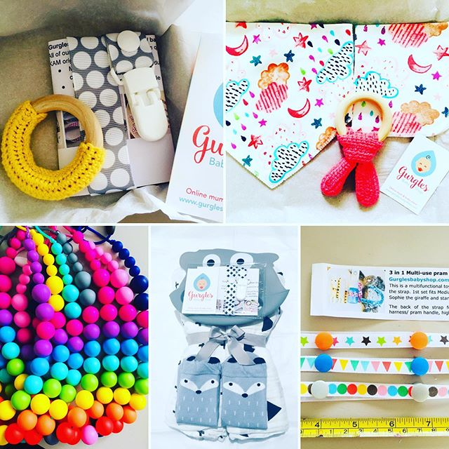 A few of your orders 😍 thank you very much 🌈🎀🎁☀️🎂💪💤⭐️🐰☀️ #gurglesbabyshop #jellycat #jellycatharness #rainbow #necklace #teethingbaby #foxsocks #weaningbaby #babyledweaning #littleteether #babygifts #madeinnorwich #madeinnorfolk #etsyseller #etsymaker #ebayseller #gurglesbabyshopcom #newmum #babyshower #babygiftideas #babygiftbox #instababies
