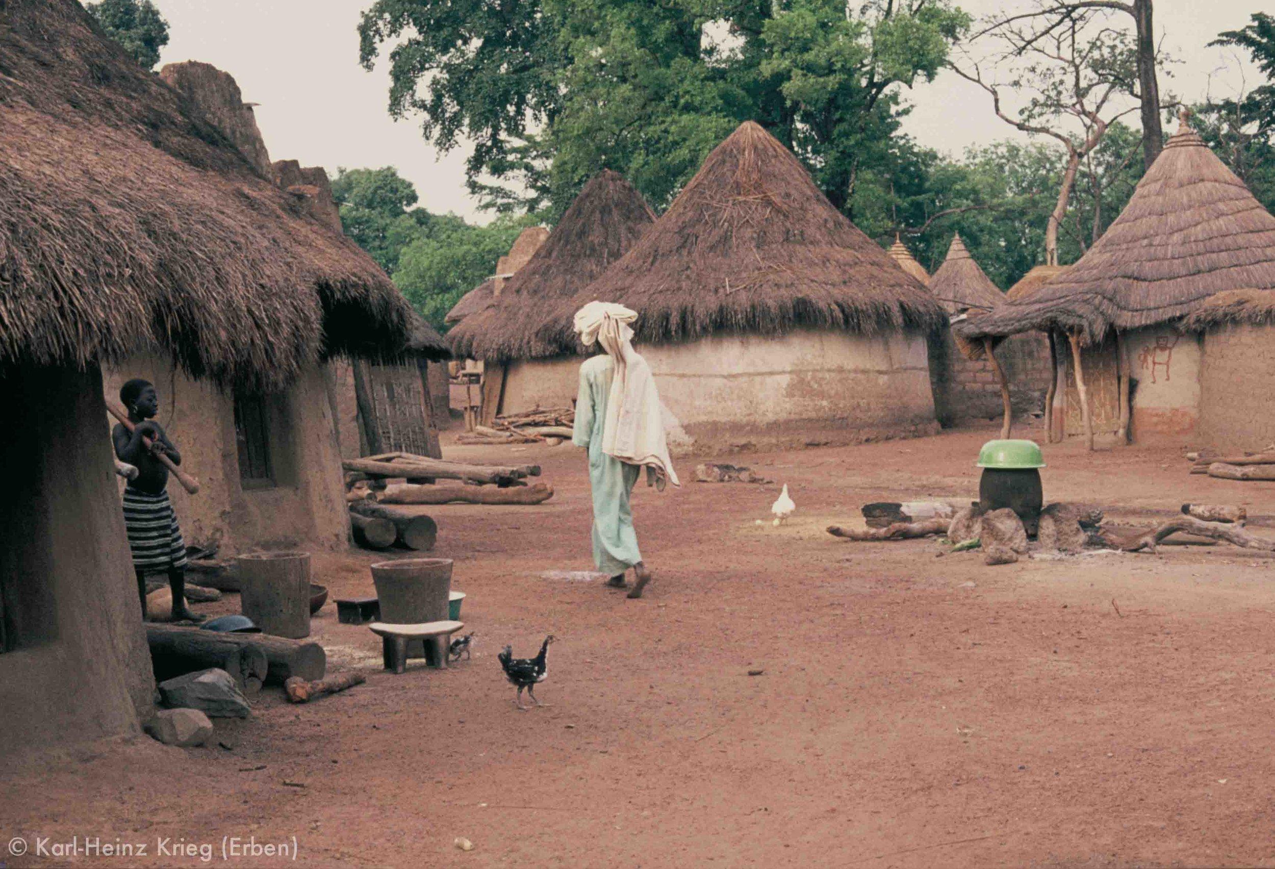 Zékaha (Region von Boundiali, Côte d'Ivoire). Foto: Karl-Heinz Krieg, 1976