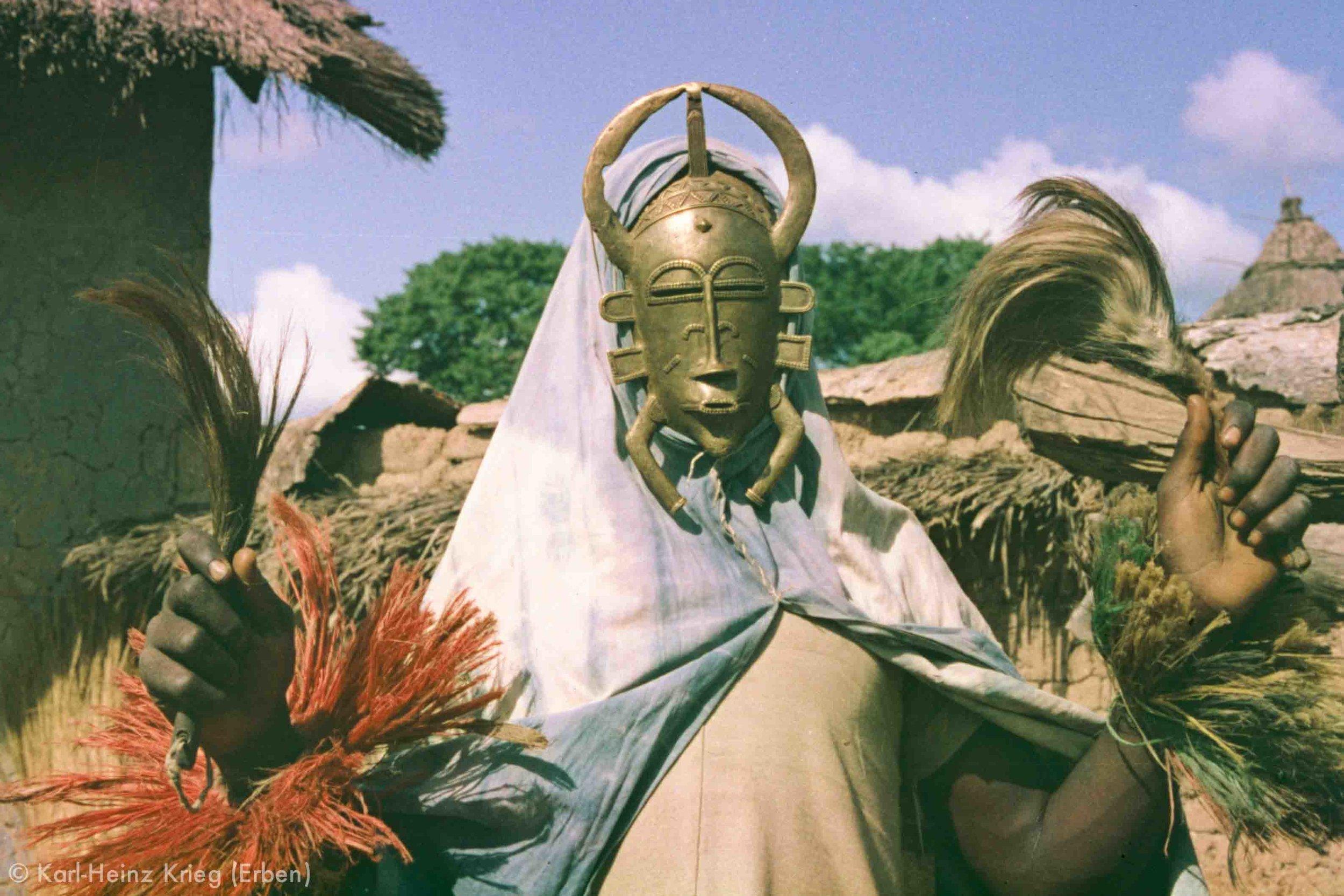 Kpelié-Masken der Senufo (Côte d'Ivoire)