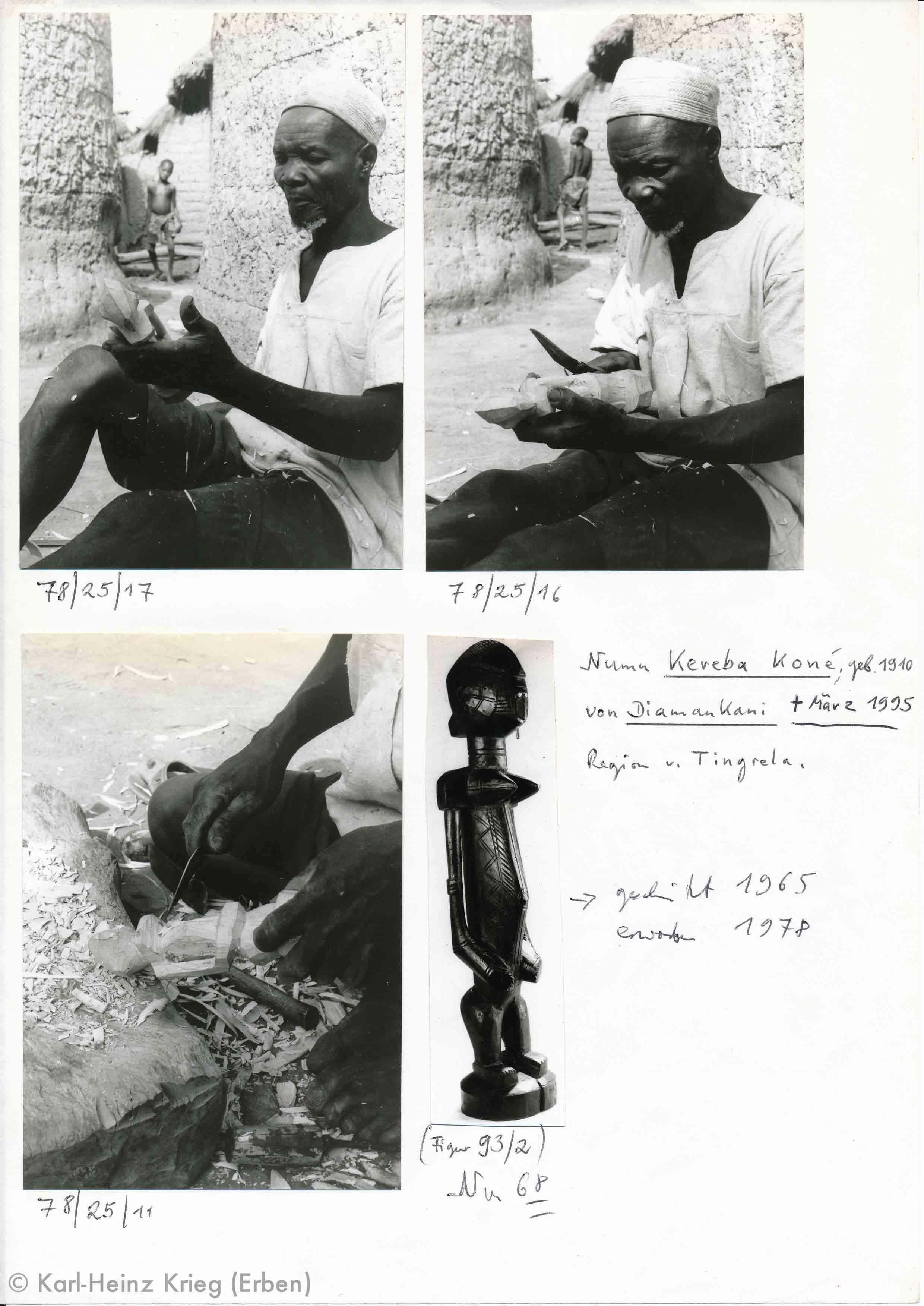 Archive by Karl-Heinz Krieg, Kereba Koné