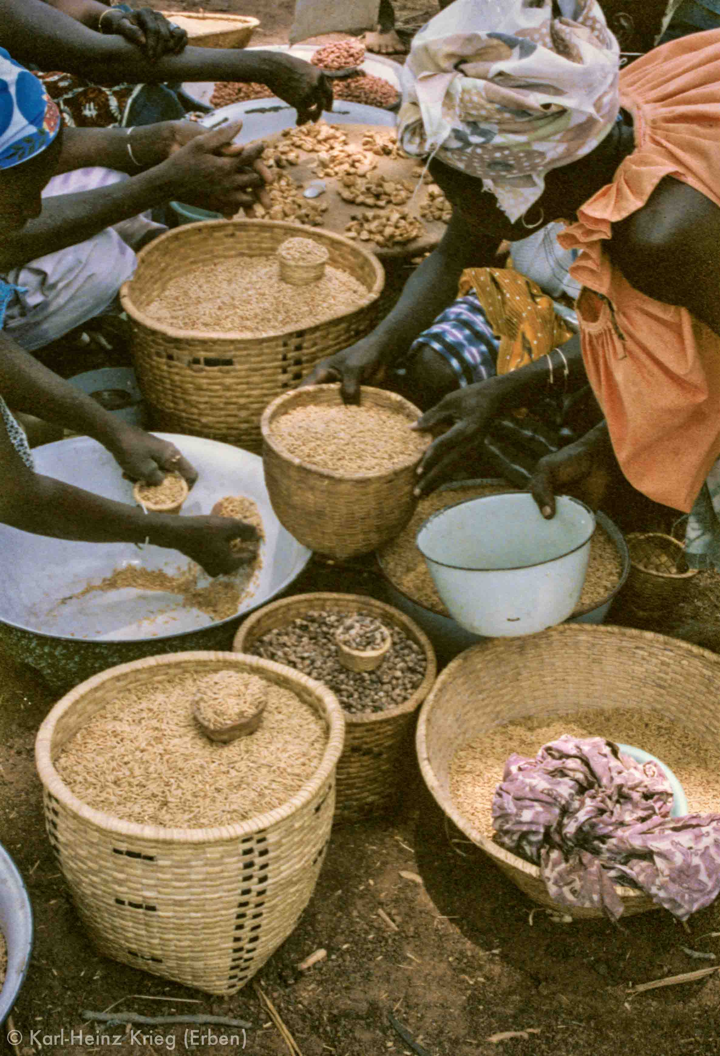 Foto: Karl-Heinz Krieg, Gouindougouba oder Tingréla (Region von Banfora, Burkina Faso), 1980