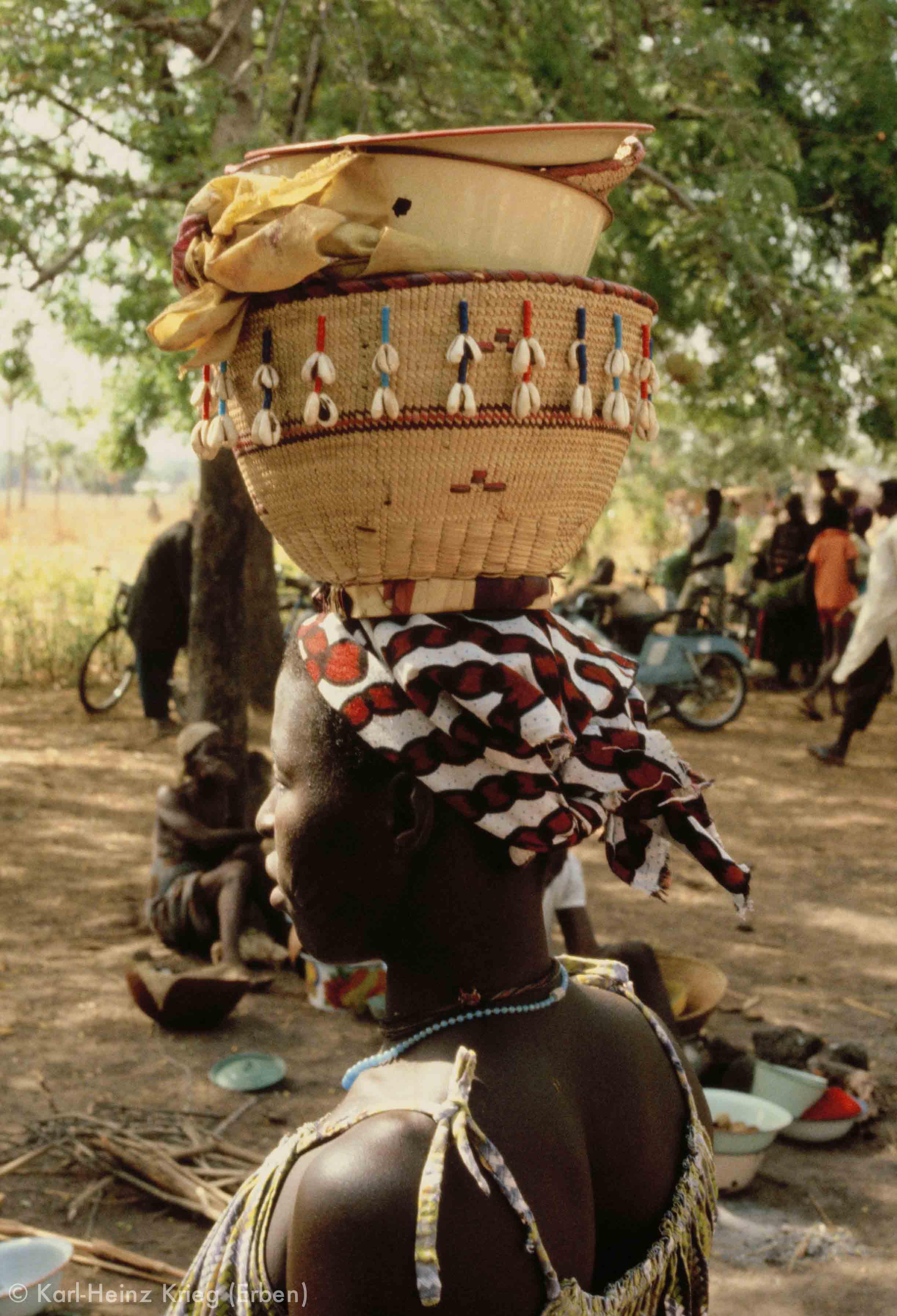 Foto: Karl-Heinz Krieg, Tingréla (Region von Banfora, Burkina Faso), 1980